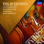 Violin encores cd musicale di Artisti Vari