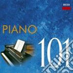 101 piano cd musicale di Artisti Vari