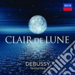 Claire de lune - debussy cd musicale di Artisti Vari