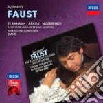 Faust cd musicale di Kanawa/dav Araiza/te