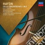 Concerto per vlc. n. 1 e 2 cd musicale di Schiff/marriner