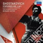 Sinfonie n. 1 e 5 cd musicale di Haitink/rco