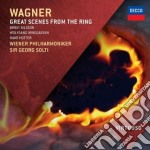 Wagner - Great Scenes From The Ring - Solti cd musicale di Solti/wp