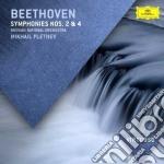 Beethoven - Sinfonie N 2 E 4 - Pletnev/rno cd musicale di Pletnev/rno