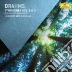 Sinfonie n. 1 e 3 cd musicale di Karajan/bp