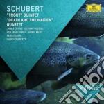 Schubert - Trout Quintet / Death And The Maiden - Hagen/Levine cd musicale di Hagen/levine