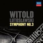 Sinfonia n.3 cd musicale di Lutoslawski