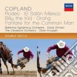 Rodeo, el salon mexico cd musicale di Zinman/bso