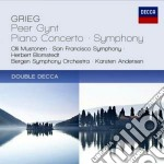 Peer gynt/conc. pf. cd musicale di Blomstedt/sfs