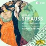 Valzer, marce e polke cd musicale di Karajan/bp