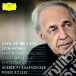 Szymanowski - Violin Concerto No.1 - Tetzlaf / Boulez cd musicale di Tetzlaf/boulez/wp