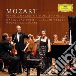 Mozart - Concerti Per Pf N. 20 E 27 - Pires/abbado cd musicale di Pires/abbado