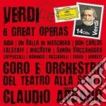 6 grandi opere cd musicale di Abbado/scala
