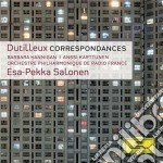 Correspondances cd musicale di Salonen
