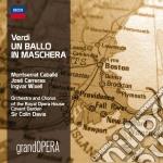 UN BALLO IN MASCHERA                      cd musicale di Davis