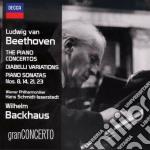 Concerti per pf cd musicale di Backhaus