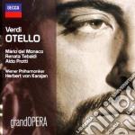 Otello cd musicale di Karajan del monaco