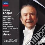 Plays chopin cd musicale di Arrau