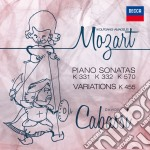 Sonatas and variations cd musicale di Cabassi