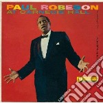 At carnegie hall 9 may 58 cd musicale di Paul Robeson