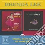Brenda Lee - Brenda That's All/all Alone Am I cd musicale di Brenda Lee