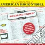 Golden age of american r'n'r cd musicale di Artisti Vari