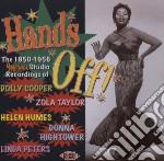 Hands off! 1950-1956 modern studio recor cd musicale di Artisti Vari
