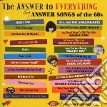 Answer To Everything - Girl Answer Songs cd musicale di Artisti Vari