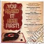 You heard it here first! cd musicale di V.a. original versio
