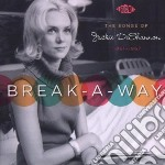 Break-a-way cd musicale di V.a. (songs of jacki