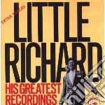 His greatest recording - little richard cd musicale di Little Richard