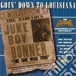 Goin'down to louisiana - cd musicale di Hop wilson/a.savoy/t.miller &