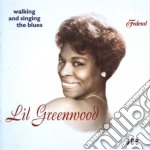 Walking and singing blues cd musicale di Greenwood Lil