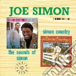 Joe Simon - The Sounds Of Simon / Simon Country cd musicale di Simon Joe