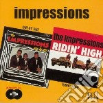 One by one/ridin'high - impressions cd musicale di Impressions