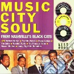 Music City Soul cd musicale di H.hunter/f.waters/r.shelton &