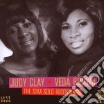 The stax solo recordings cd musicale di Judy clay & veda bro