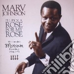 I'll pick a rose for my cd musicale di Johnson Marv