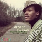 Don't count on me vol.1 cd musicale di Jackson George