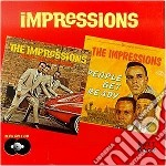 People get ready/keep on. - impressions cd musicale di The Impressions