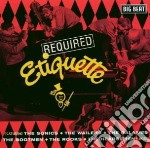 Required etiquette cd musicale di Sonics/wailers/bootm