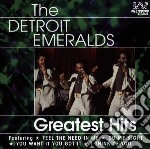 GREATEST HITS cd musicale di DETROIT EMERALDS