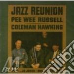 Jazz reunion cd musicale di Russel pee wee/hawkin