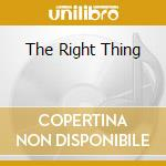 THE RIGHT THING cd musicale di CHEMICAL PEOPLE