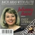 Johann Sebastian Bach - Arie Per Soprano E Con Flauto Obbligato cd musicale di Johann Sebastian Bach