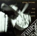 The poet game - brown greg cd musicale di Greg Brown