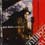 GIVE IN KIND cd musicale di DAVIS GUY
