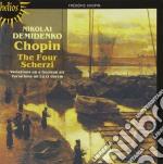 I quattro scherzi cd musicale di Chopin