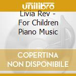 For children cd musicale di Livia Rev
