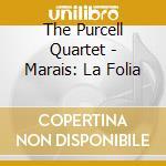 Variazioni su-la folia cd musicale di Marin Marais